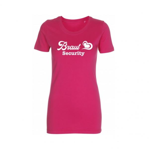 T-Shirt Braut Security