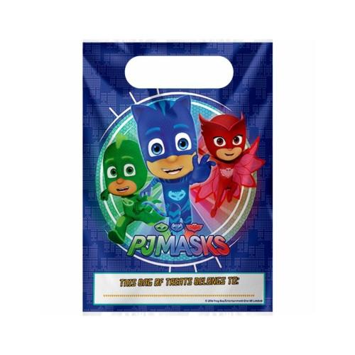 PJ Masks | Partytüten 17 x 23 cm - 8 Stück