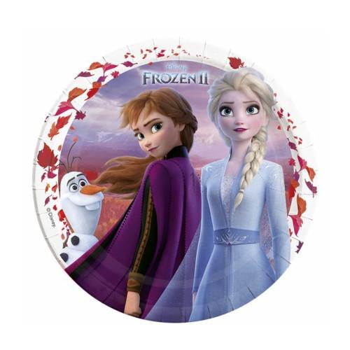 Frozen 2 | Pappteller 23 cm - 8 Stück