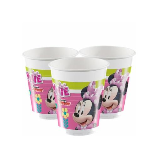 Minnie Mouse | Plastikbecher 200 ml. - 8 Stück