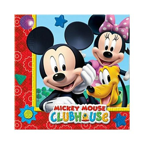 Mickey Mouse | Servietten 33 x 33 cm - 20 Stück