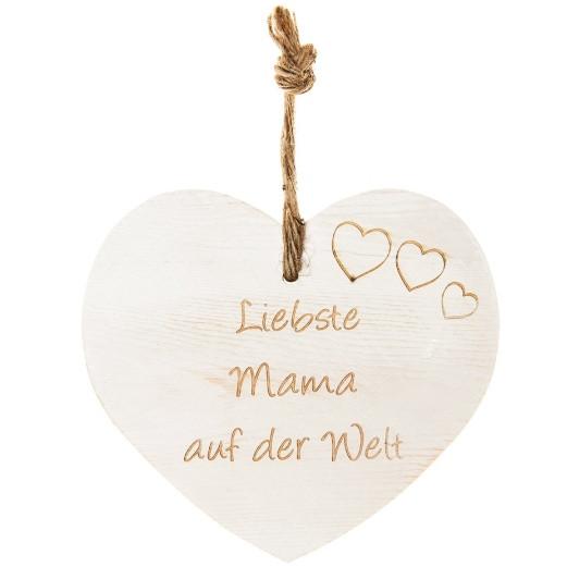 Vintage-Herz «Liebste Mama auf der Welt»