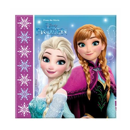 Disney Frozen | Servietten 33 x 33 cm - 20 Stück