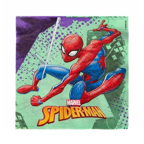 Spiderman | Servietten 33 x 33 cm - 20 Stück