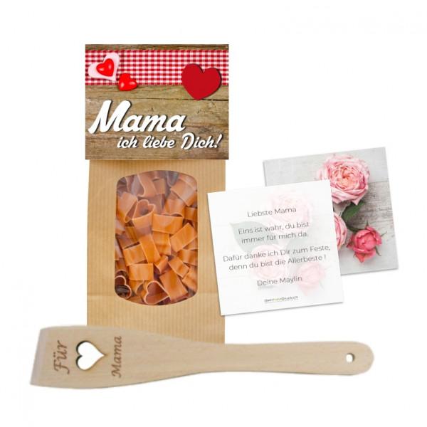 Herz Pasta & Wender «Für Mama» mit Grusskarte