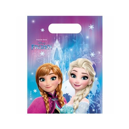 Frozen | Partytüten 23 x 16.5 cm - 6 Stück
