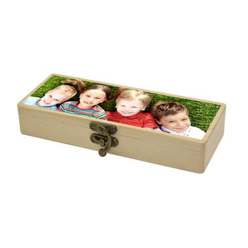 Stiftebox aus Holz | Fotodruck
