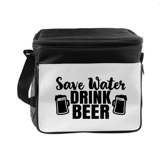Kühltasche - Save Water Drink Beer