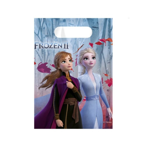 Frozen 2 | Partytüten 23 x 16.5 cm - 6 Stück