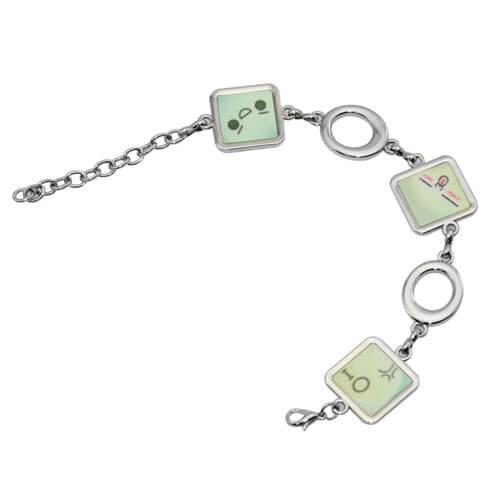 Armband mit 3 Quadrate