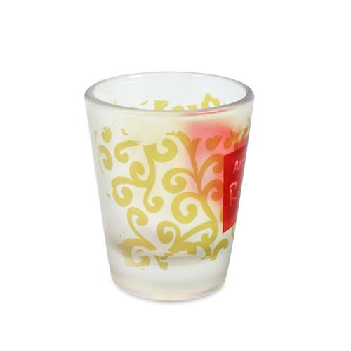 Schnaps-Glas 2cl konisch satiniert