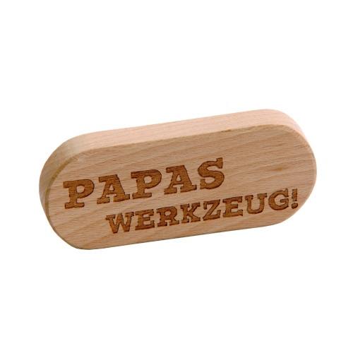 Flaschenöffner «Papas Werkzeug»