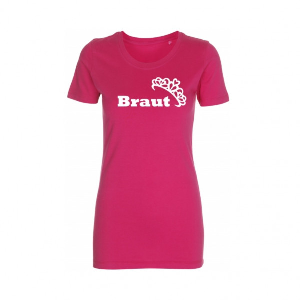 T-Shirt Braut Krone