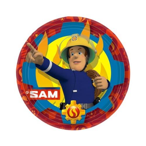 SAM | Pappteller 23 cm - 8 Stück