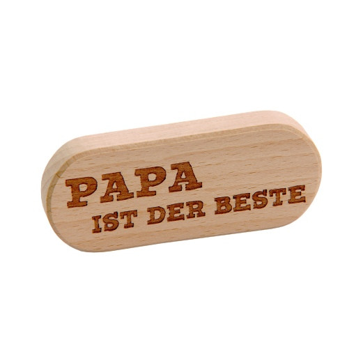 Flaschenöffner - Gravur Papa ist der Beste