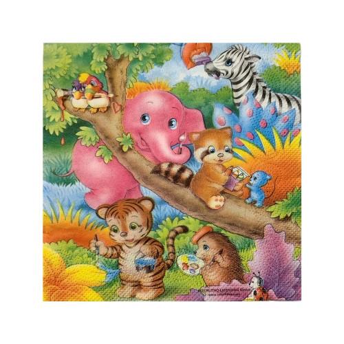 Jungle Party | Servietten 33 x 33 cm - 20 Stück