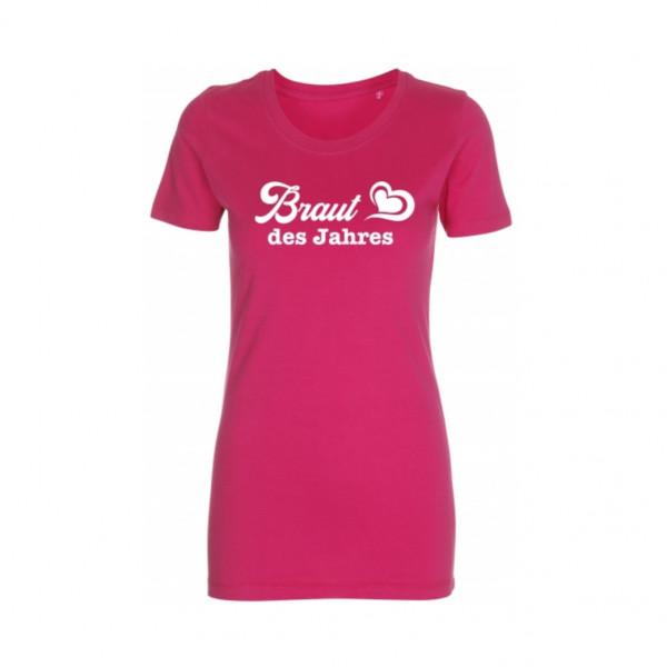 T-Shirt Braut des Jahres