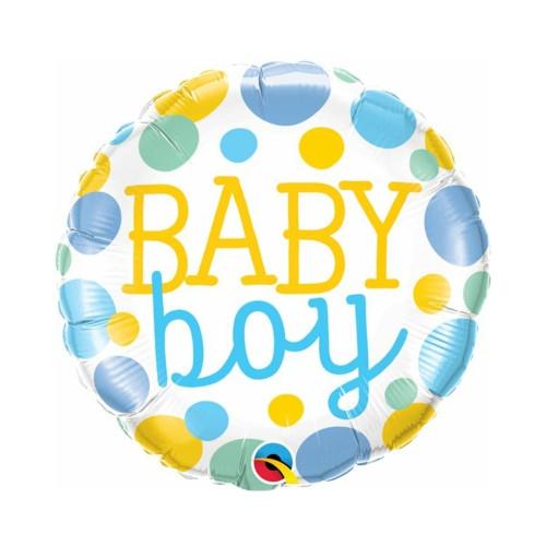 Baby Boy | Heliumballon 46 cm - befüllt