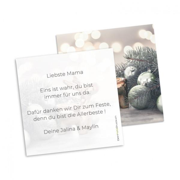 Grusskarte «Elch» inkl. Grusstext