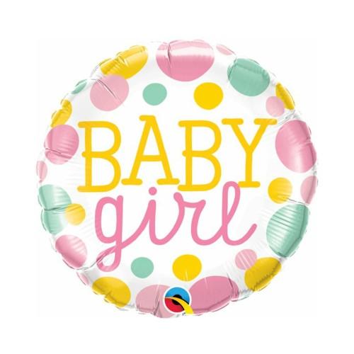 Baby Girl | Heliumballon 46 cm - befüllt