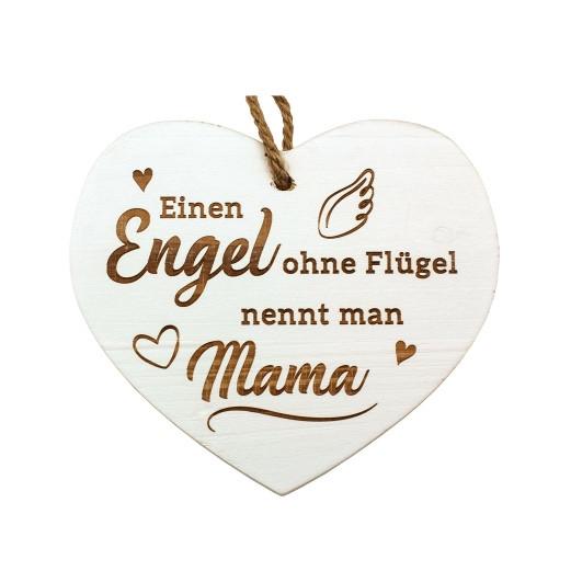 Vintage-Herz «Einen Engel ohne Flügel...»