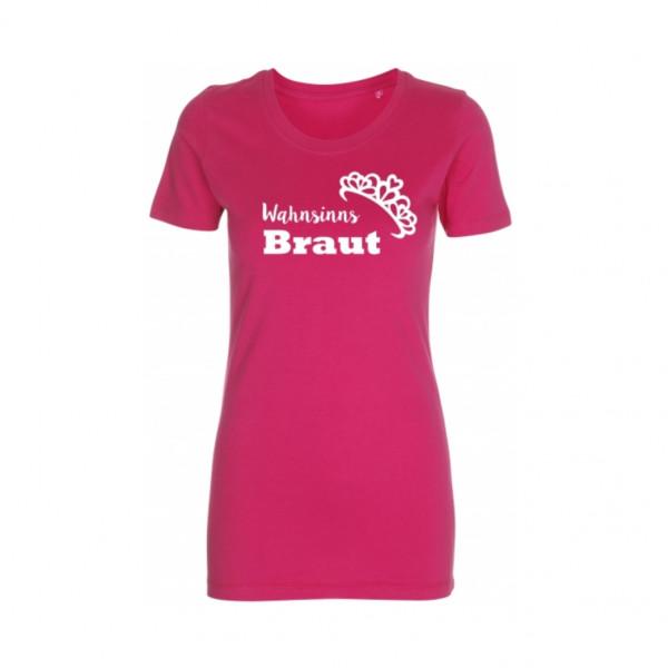 T-Shirt Wahnsinns Braut