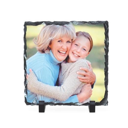 Schiefertafel Quadrat 20 x 20 cm