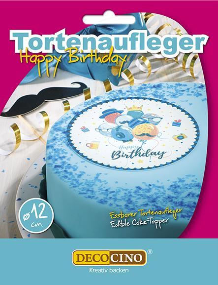 Birthday Boy Tortenaufleger essbar 12cm