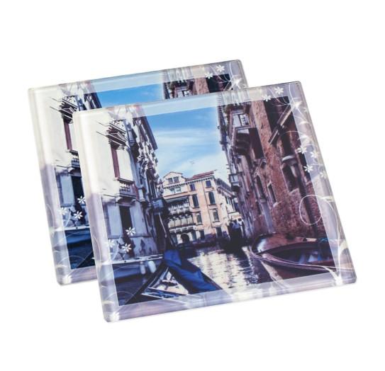 Untersetzer aus Glas | Fotodruck