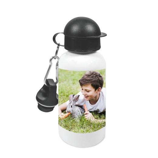 Aluminium Trinkflasche 600 ml   Fotodruck