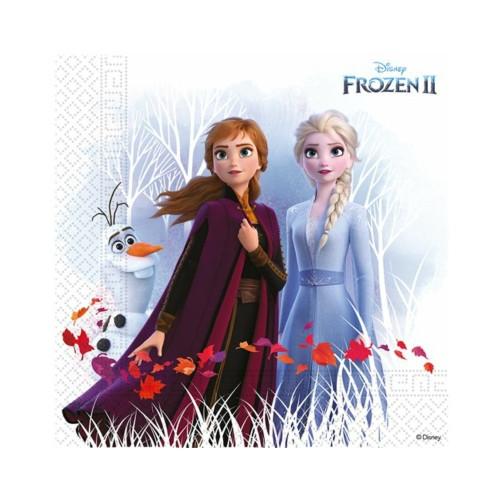 Frozen 2 | Servietten 33 x 33 cm - 20 Stück