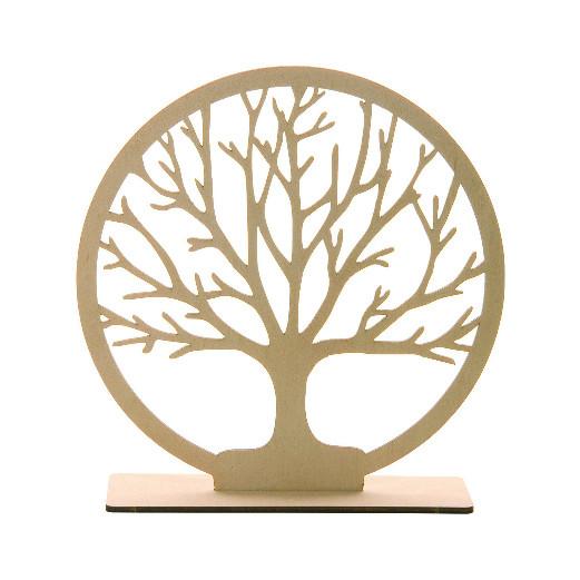 Holzaufsteller - Baum des Lebens
