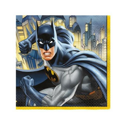 Batman | Servietten 33 x 33 cm - 16 Stück
