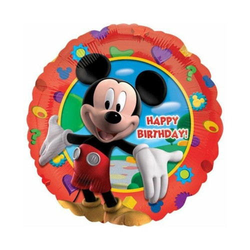 Mickey B-Day   Heliumballon 46 cm - befüllt