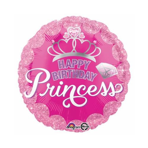 Prinzessin | Heliumballon 46 cm - befüllt