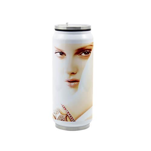 Dose mit Trinkhalm 500 ml | Fotodruck