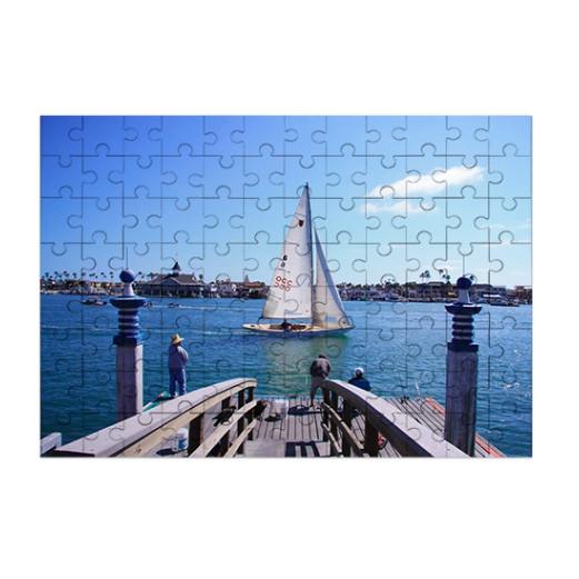 Foto Holzpuzzle - 96 Teile | Fotodruck