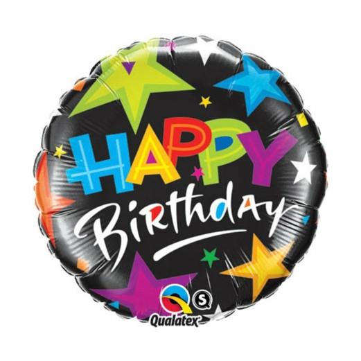 Pop Sterne   Heliumballon 46 cm - befüllt