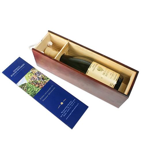 Flaschen Holzkiste 350 x 105 mm