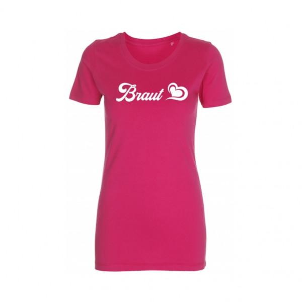 T-Shirt Braut Herz