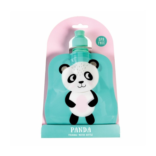 Faltbare Kinder Flasche | Panda | 200 ml