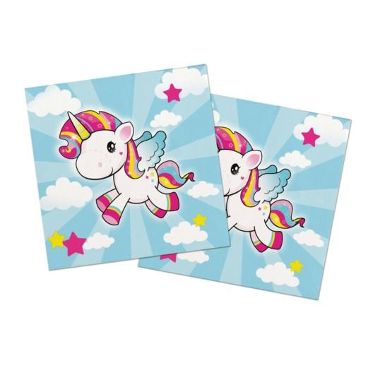 Einhorn Pony | Servietten 33 x 33 cm - 20 Stück