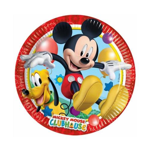Mickey Mouse | Pappteller 23 cm - 8 Stück