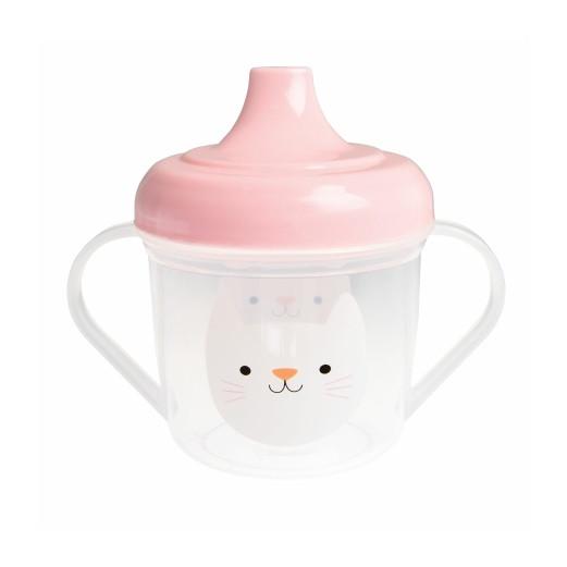 Schnabeltasse mit Katzemotiv | 190 ml