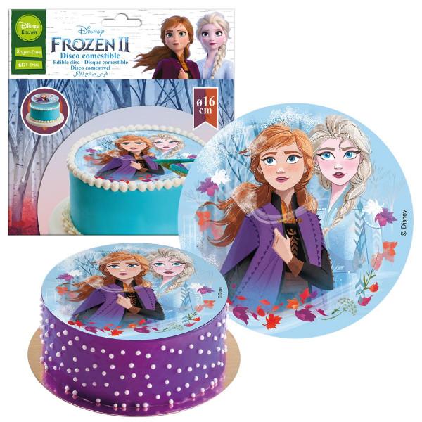 Frozen 2 Tortenaufleger essbar 16cm