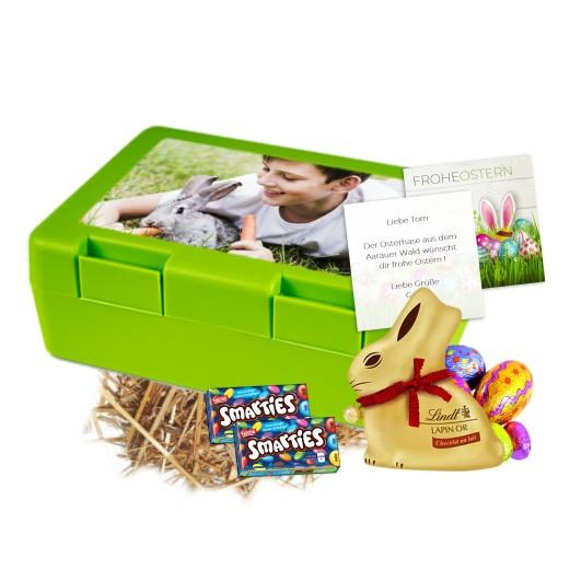 Lunch Box Osternest befüllt inkl. Grusskarte