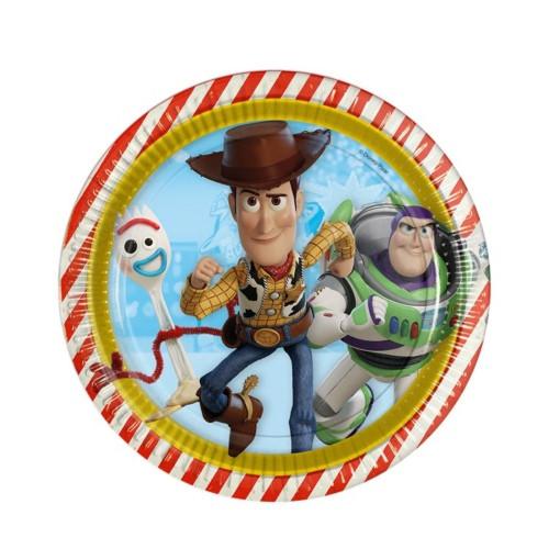 Toy Story | Pappteller 23 cm - 8 Stück