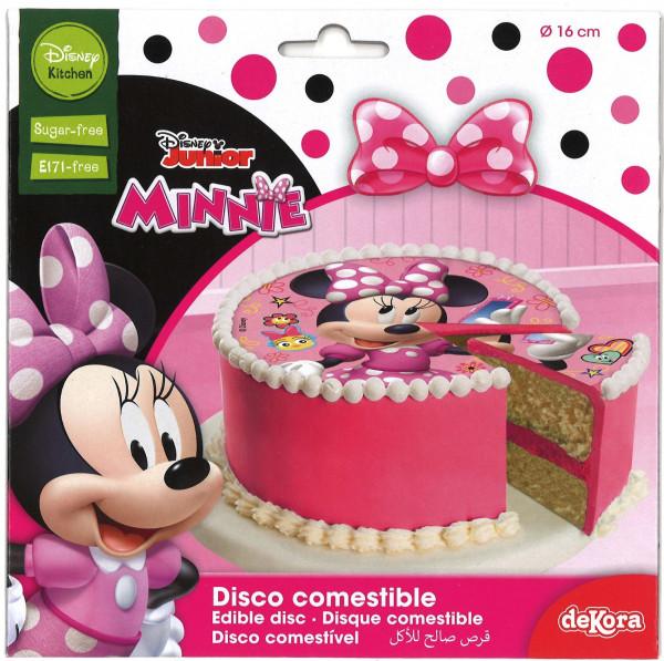 Minnie Mouse Tortenaufleger essbar 16cm