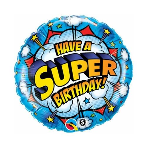 Super B-Day | Heliumballon 46 cm - befüllt