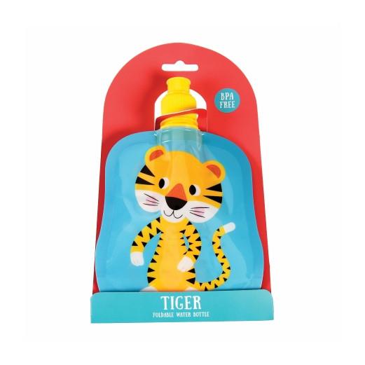 Faltbare Kinder Flasche | Tiger | 200 ml